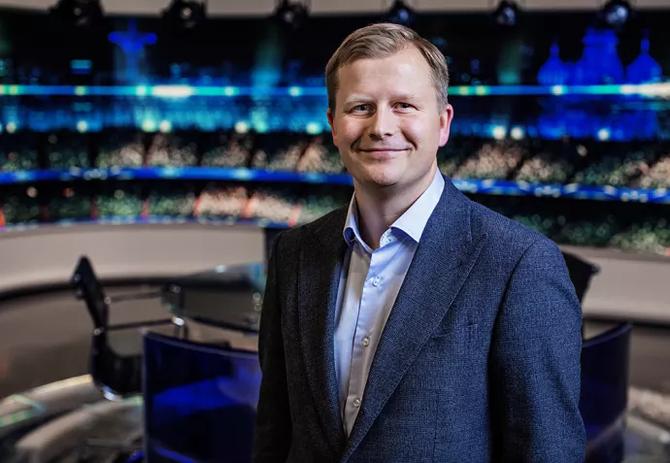 Vegard Klubbenes Drogseth, administrerende direktør i Viasat Norge. (Foto: Viasat Norge)