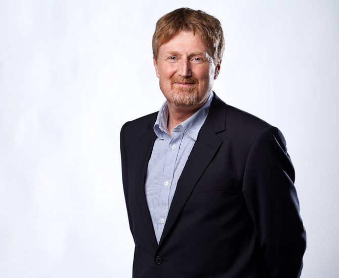 SportsdirektørJan-Erik Aalbu i Discovery. (Foto: Discovery)