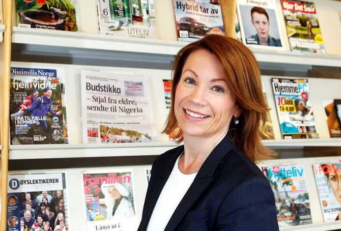 KJERSTI SORTLAND, sjefredaktør i Asker og Bærums Budstikke.