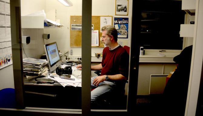 Journalist og klubbleder Yngve Grønvik har ventet lenge på modernisering av avisproduksjonen.