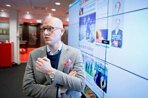 Digitalredaktør Ola Stenberg i VG