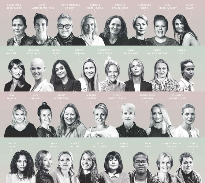 31 nye kvinnelige stemmer - (nesten) bare fra Oslo?