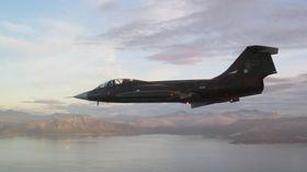 STORT ØYEBLIKK: Starfighteren var i luften igjen 28. september.