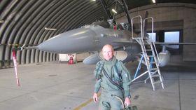 PRIMUS MOTOR: Det var Helge Andreassen som tok initiativ til å få Starfighteren i luften igjen.