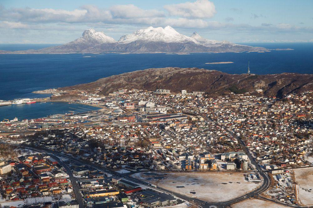 Dips´kontorer ligger i Rønvika i Bodø by. Byen har rundt 50 000 innbyggere, ifølge tall fra SSB.