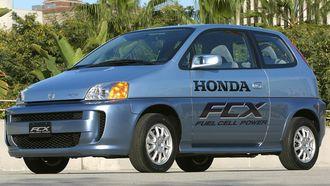 Honda FCX fra 2002.