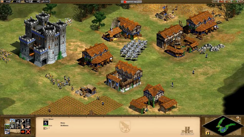 Age of Empires II: Age of Kings var blant de sjangerdefinrerende spillene på nittitallet. .