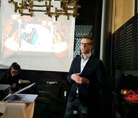 Markedssjef Svein Henning Kirkeng fra Telia presenterte det nye tilbudet på en pressekonferanse mandag morgen.