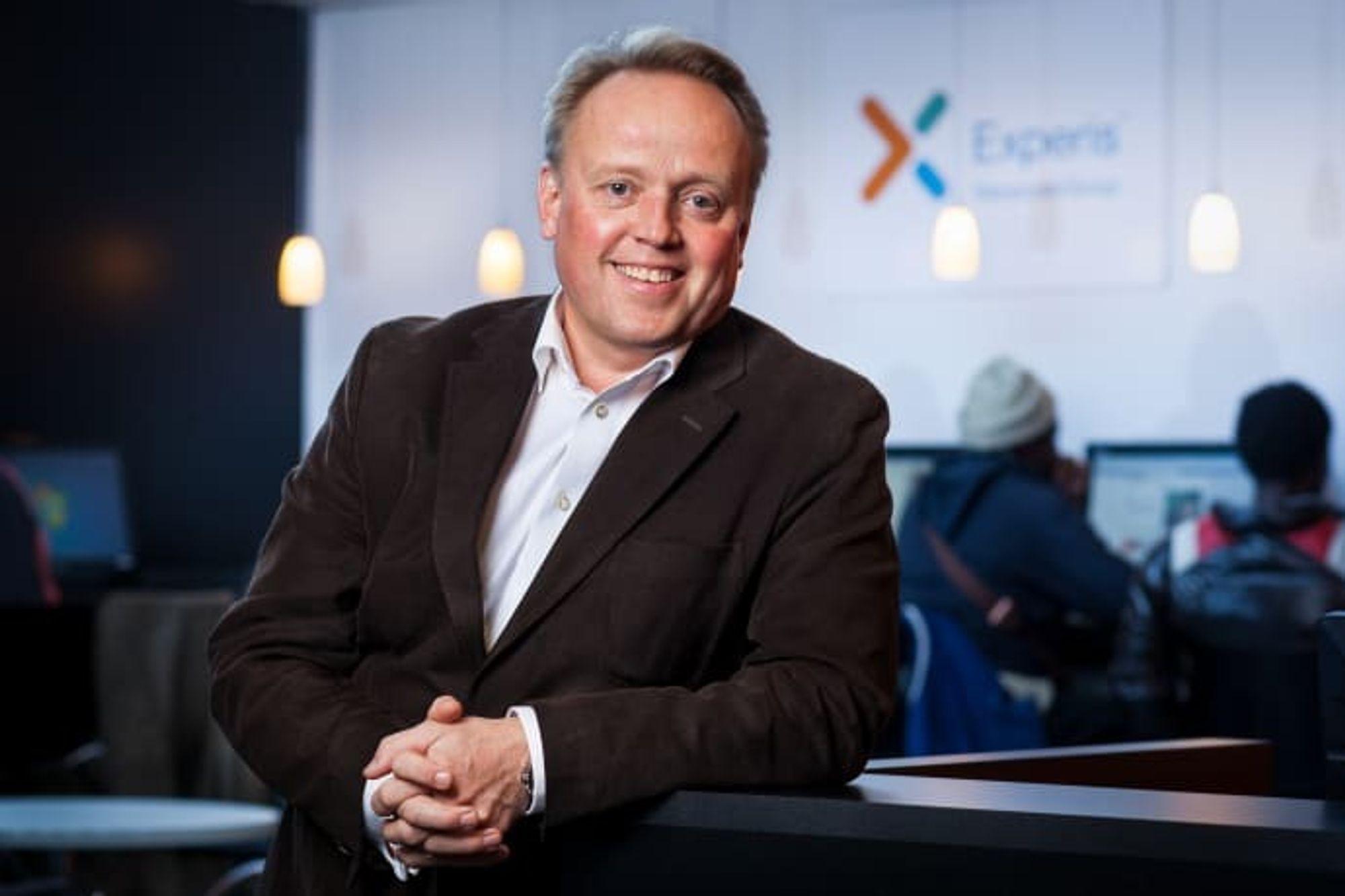 Konserndirektør Trygve Solem i Experis Norge mener jobbmarkedet i Norge for IT-folk er svært godt for tiden.