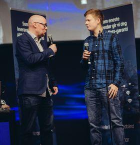 Her blir «Andz» intervjuet av Rune Fjeld Olsen på SpillExpo 2016.