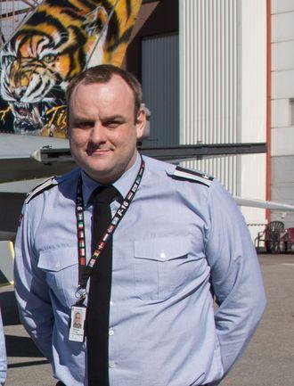 Per Inge Rønsberg, leder for F-16-prosjektgruppe i Forsvarsmateriell.