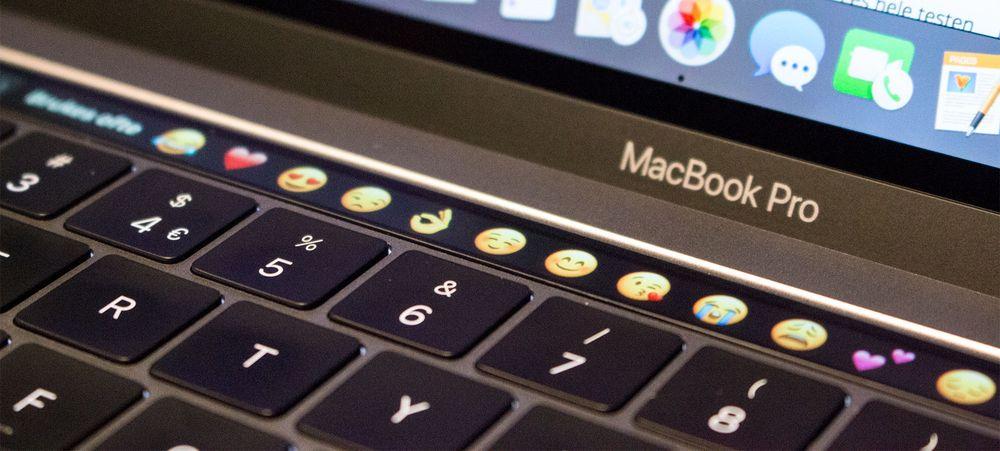 Touch Bar letter tilgangen til enkelte funksjoner, men står stort sett utbrukt. tastaturet er svært grunt, men stabilt og raskt å skrive på.