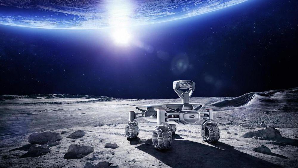 Audi Lunar Quattro kan kjøre på månens overflate neste år.