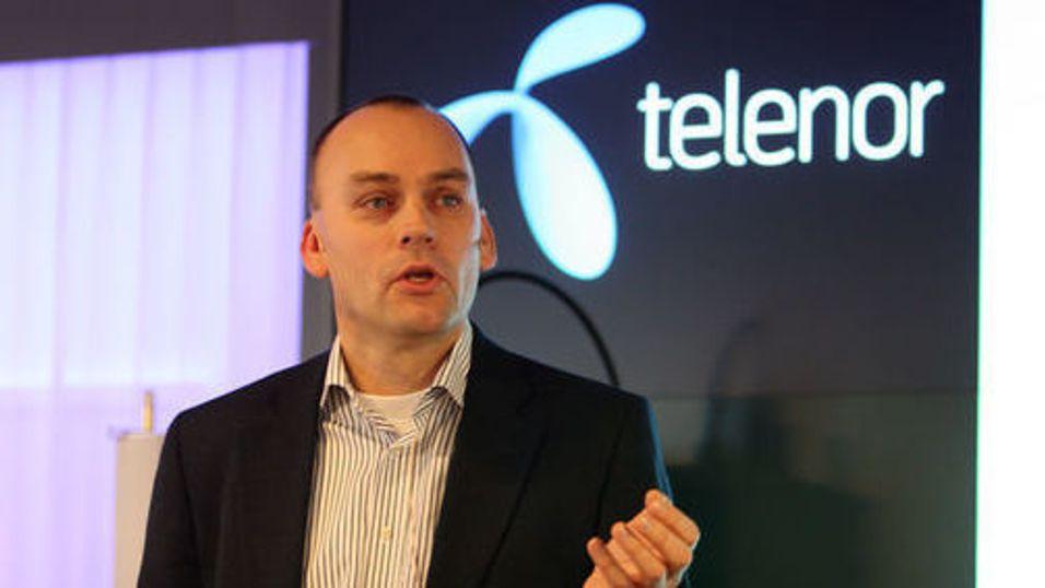 Mobilsjef Bjørn Ivar Moen i Telenor Norge lanserer fakturabetaling med kort i Telenor-appene - for å holde tritt med kundenes betalingsvaner.