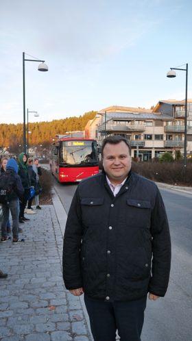 HAR KONTAKTET RUTER: Ordfører Thomas Sjøvold.