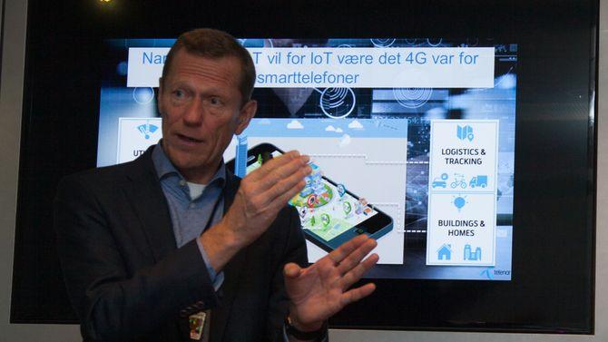 Narrowband IoT skal få fart på tingenes internett.