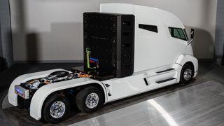Dette er bilen som skal ta tungtransporten vekk fra diesel