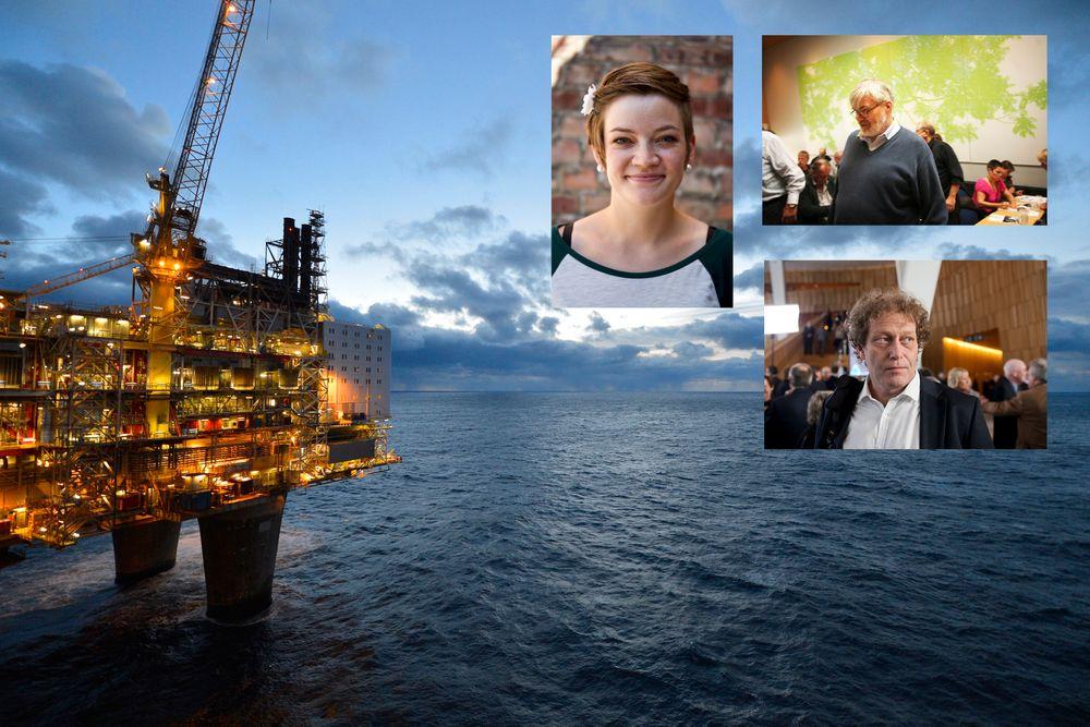 Naturvernforbundets leder Silje Ask Lundberg, forbundsleder i Industri Energi Leif Sande og Bellona-leder Frederic Hauge mener alle at Petroleumstilsynet bør granskes.