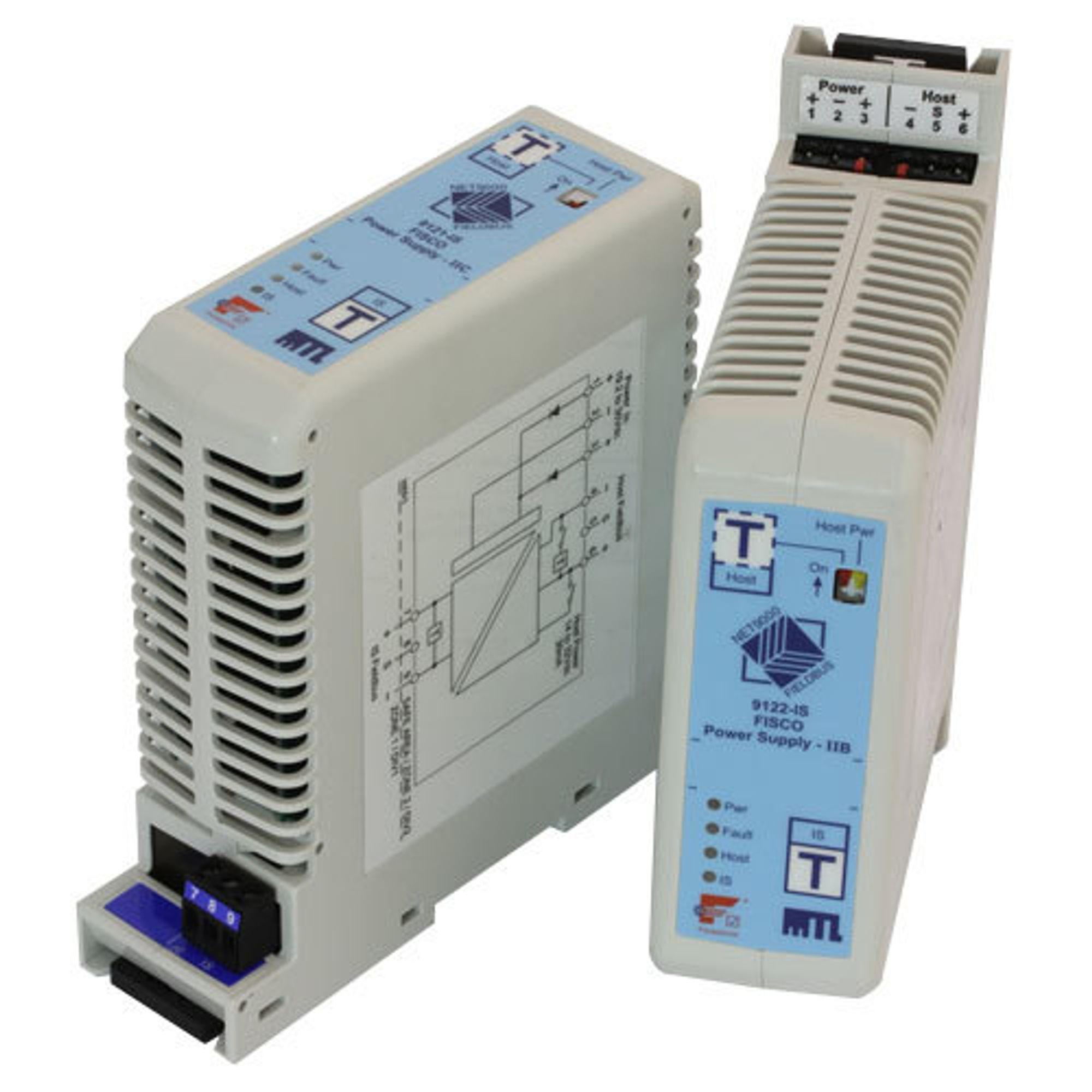 Eaton Simplex Fisco kraftforsyning er tilpasset fieldbus og godkjent for bruk i Ex-soner.