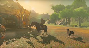 Nintendo viser frem enda mer av det nye Zelda-spillets store spillverden