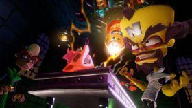 Crash Bandicoot N. Sane Trilogy får oppgradert grafikk.