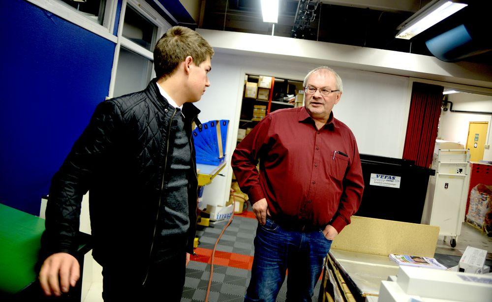 Den trykkede papirutgaven blir viktig framover, tror Tom Erik og Håkon. Men de satser likevel litt mer mot nett framover.