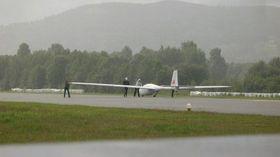 LUFTSPORT: Notodden flyplass er mye brukt av luftsportutøvere.