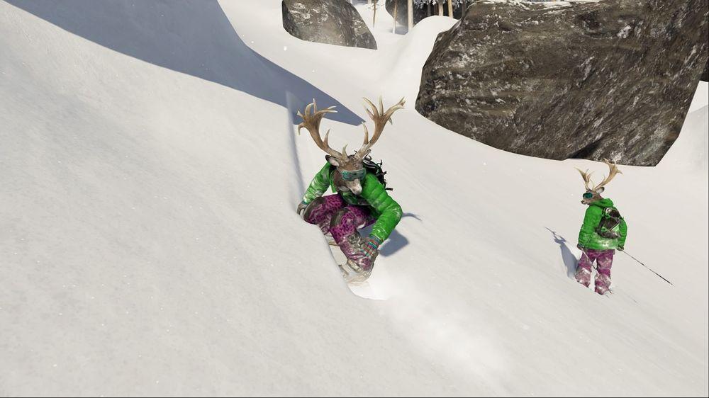 Jeg liker stilen din, skiløper-kompis. Eller, vent nå litt ...