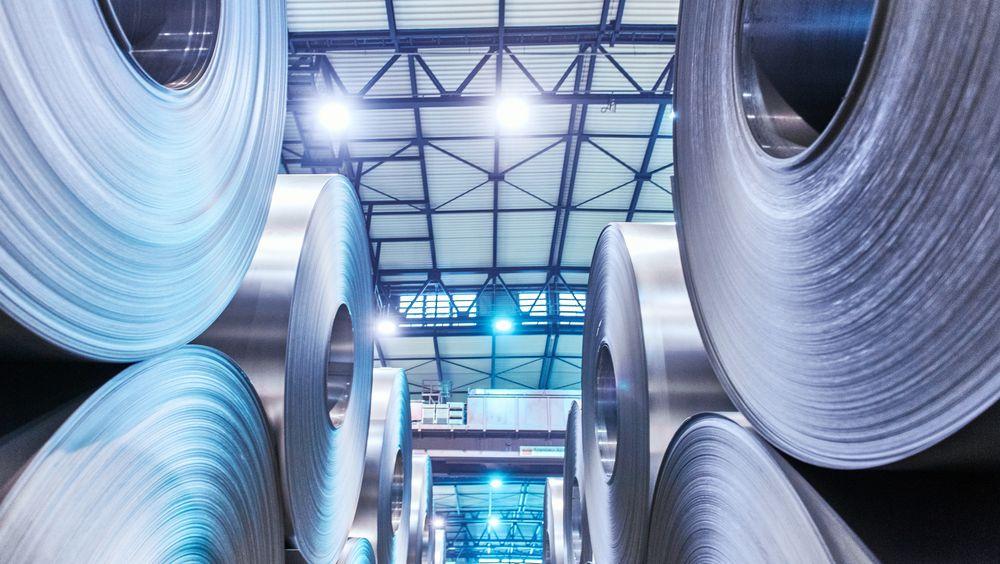 Tyske ThyssenKrupp er landets største produsent av stål.