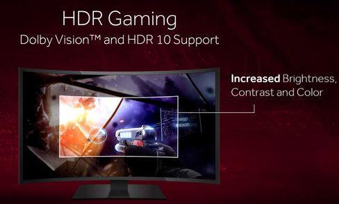 HDR eller Dolby Vision gir bedre farger, høyere kontrast og kraftigere lysstyrke.