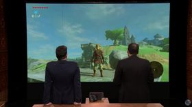 Reggie Fils-Aimé spilte det nye Zelda-spillet hos Jimmy Fallon.