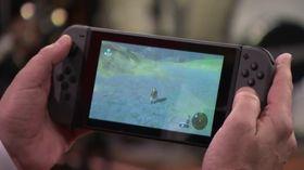 Switch-skjermens størrelse egner seg for VR-briller, men oppløsningen er kun 720p, ifølge rykter.