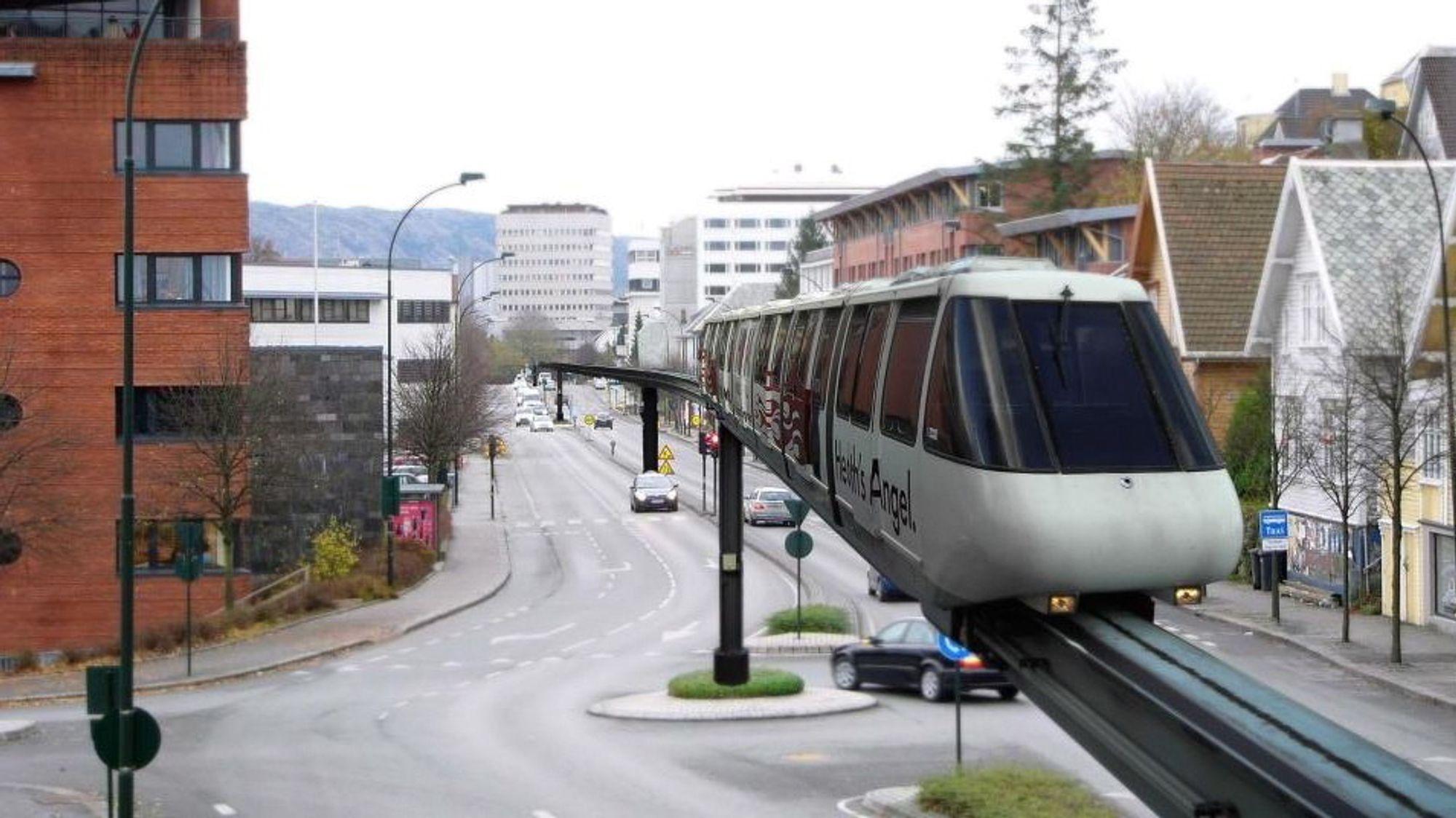 Monorail har lenge vært forbundet med noe de har i fornøyelsesparker eller gjøres narr av i en TV-episode av The Simpsons. Nå er dette en løsning som velges i stadig flere store byer rundt om i verden, skriver Bloomberg-skribent Adam Minter. I Norge har Monorail tidligere vært nevnt i debatten om fremtidig transportsystem i Stavanger, som du også kan se i montasjen.