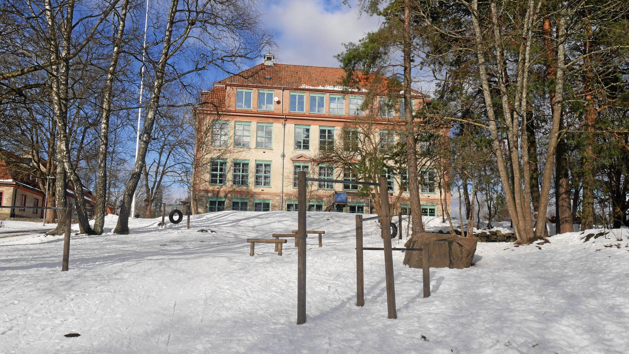 SKAL REHABILITERES: Kolbotn skole har behov for strakstiktak på 17.960.000 kroner ifølge tilstandsrapporten fra Reinertsen AS.