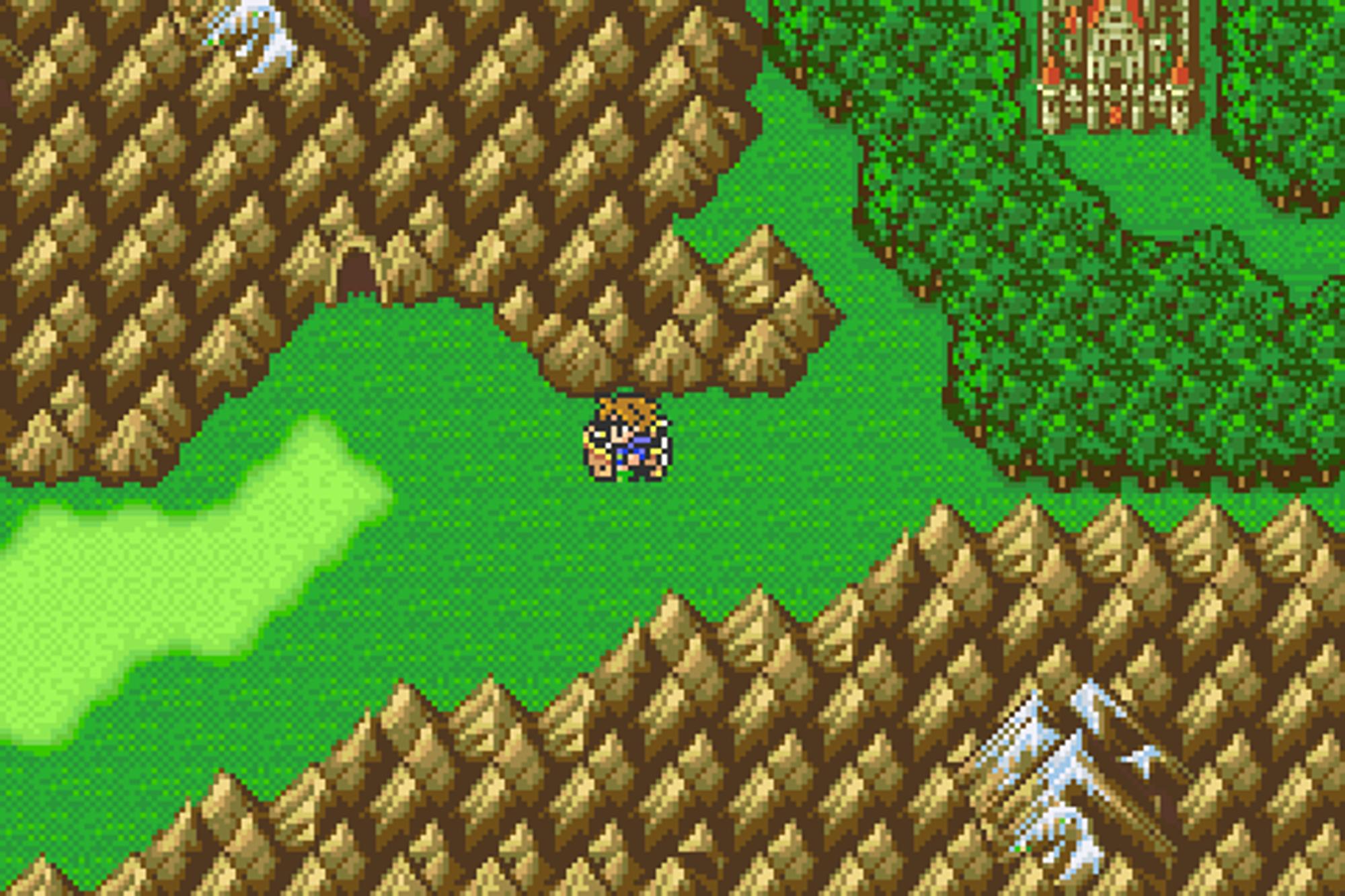 Final Fantasy V er helt klart fra en enklere tid.
