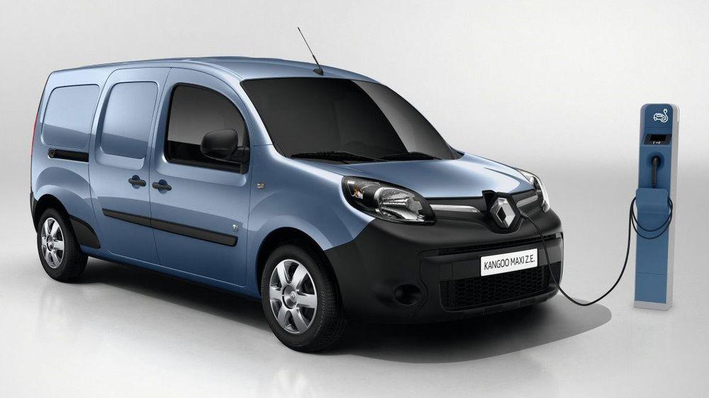 Varebilen Renault Kangoo Maxi Z.E. lanseres med større rekkevidde over nyttår.
