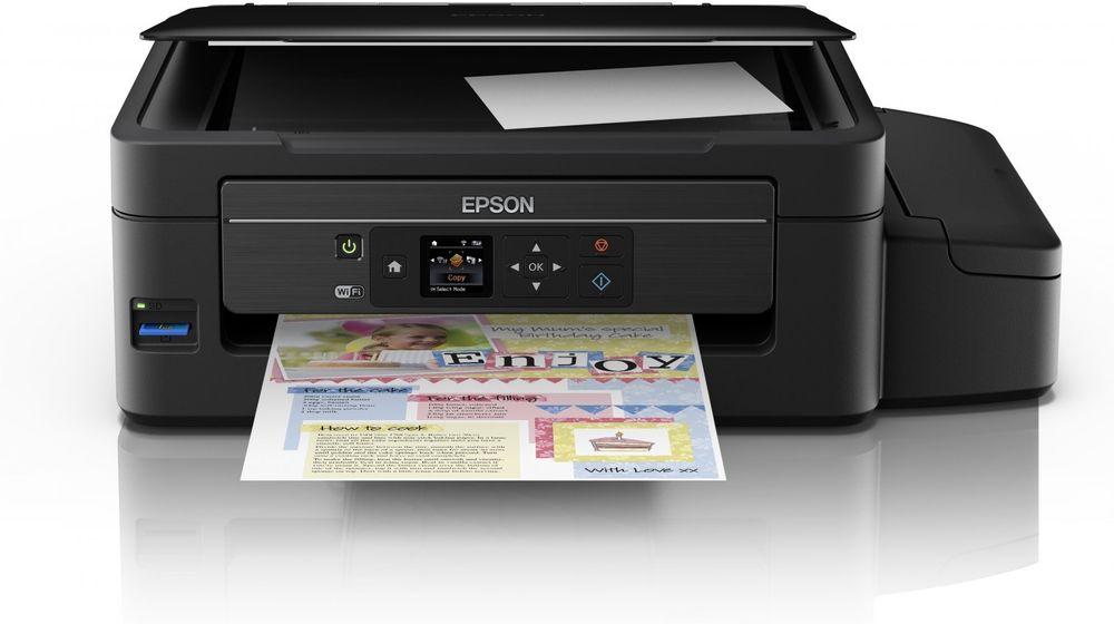I luke 13 i kalenderen finner du printeren Epson EcoTank ET-2550.