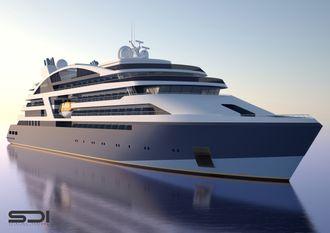 Vard skal levere fire luksuscruiseskip på ca. 10.000 bruttotonn til franske Ponant. Skipene blir 128 meter lange og skal ha plass til 180 passasjerer og et mannskap på 110.