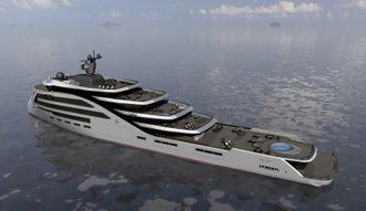 Ulstein verft skal bygge en luksusyacht for en privat eier. Eksakte tegnnger er ikke offentliggjort.Fartøyet skal være 88,5 meter langt, 16,3 meter bredt og er tegnet i samarbeid med yachtdesigner Espen Øino.