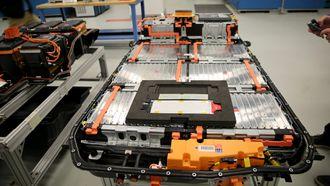 Batteripakka som sitter i Bolt/Ampera-e.