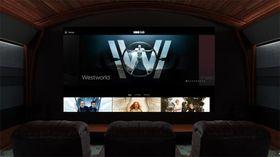 Slik ser HBO ut inne i Google Daydream.