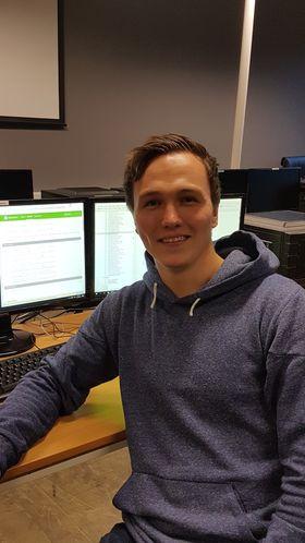 Lars-Petter Schøyen (23).
