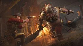 Skjermbilde fra Hunt: Horrors of the Gilded Age, en av Cryteks seneste titler.