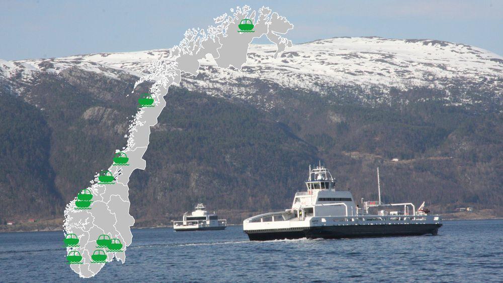 Det ligger an til at Norge kan få flere ferger som batterifergen Ampere. 11 utredningsprosjekter har nemlig fått til sammen 20 millioner i støtte for å undersøke lav- og nullutslippsløsninger for skipsfart.