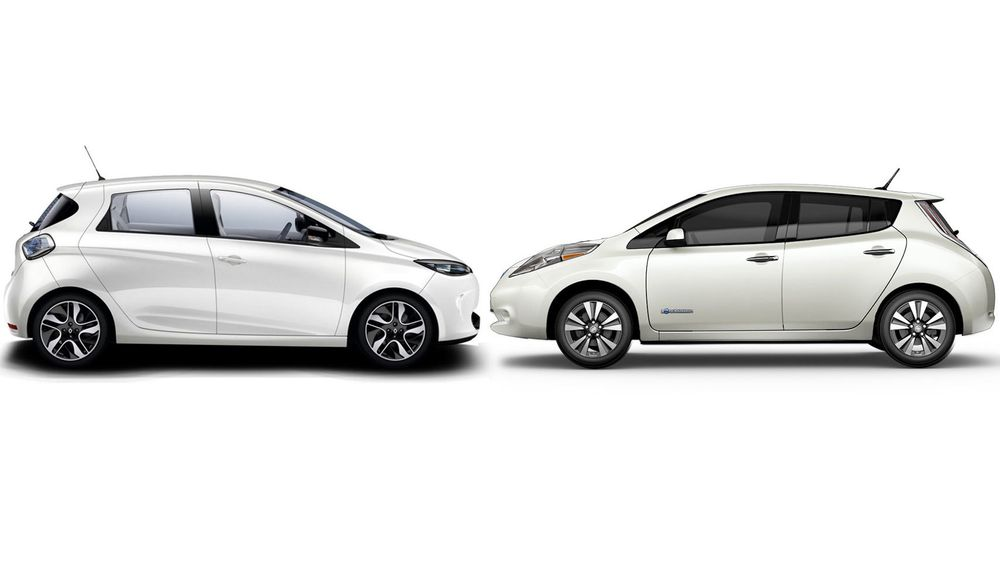 Renault Zoe og Nissan Leaf skal bygges på samme plattform når neste generasjon kommer.