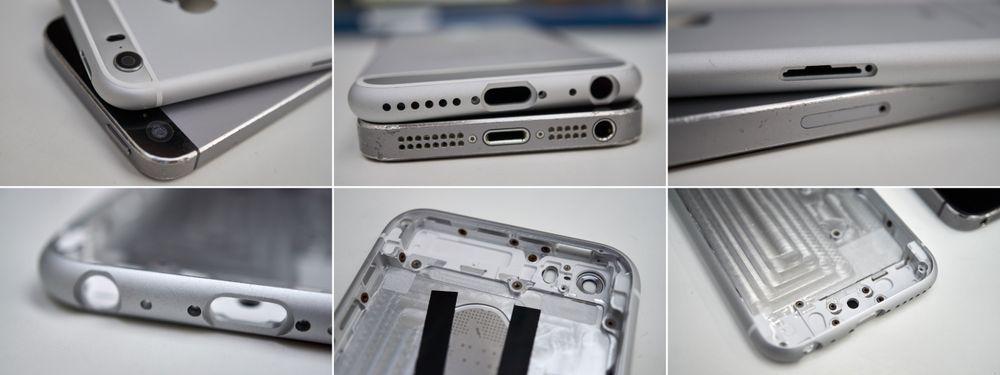 Nytt skall, gammel telefon som skal omplasseres.