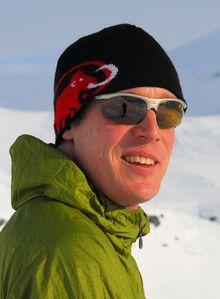 Fagansvarlig snøskred Christian Jaedicke ved Norges Geotekniske Institutt (NGI). Foto: NGI.