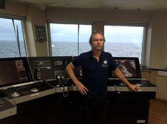 Kapteinen: Henning Bruvik er tilbake på Trollfeltet som plattformsjef på COSLPromoter. – Jeg føler meg trygg her, sier han.