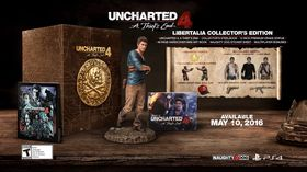 Uncharted 4: A Thief's End Libertalia Collector's Edition.