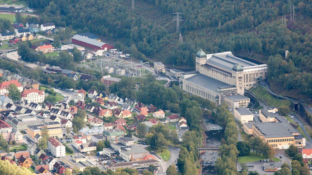 Såheim kraftstasjon på Rjukan. Foto: Øyvind Breivik, Hydro